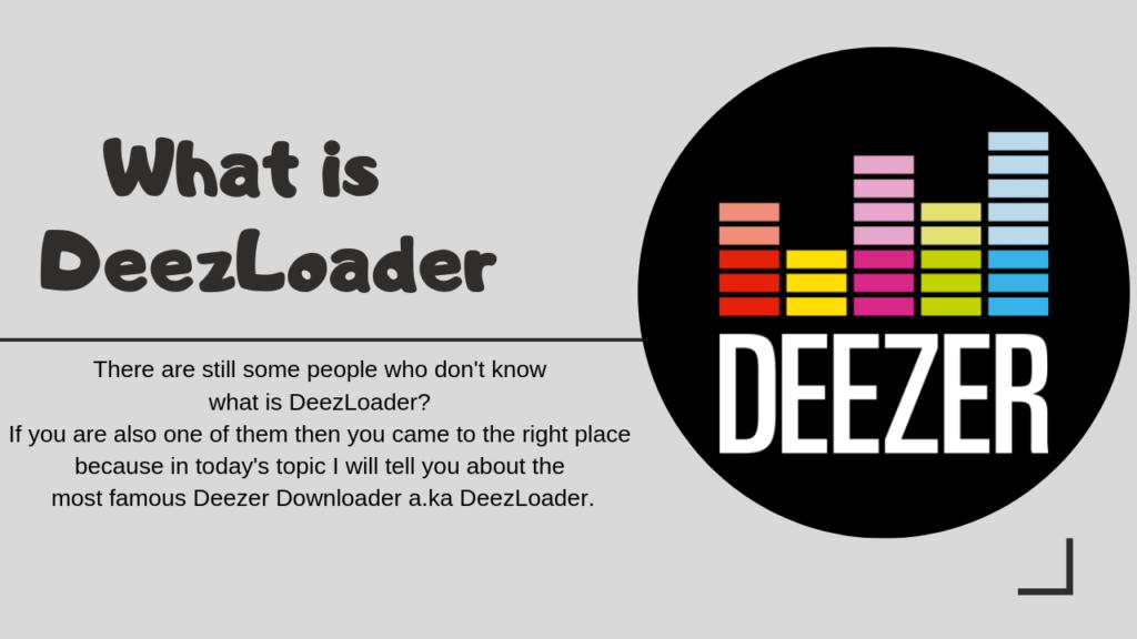 What Is DeezLoader