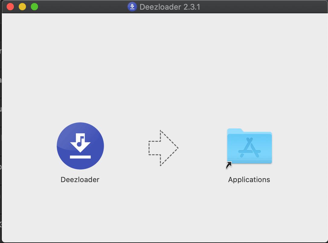 Open Deezloader In Mac