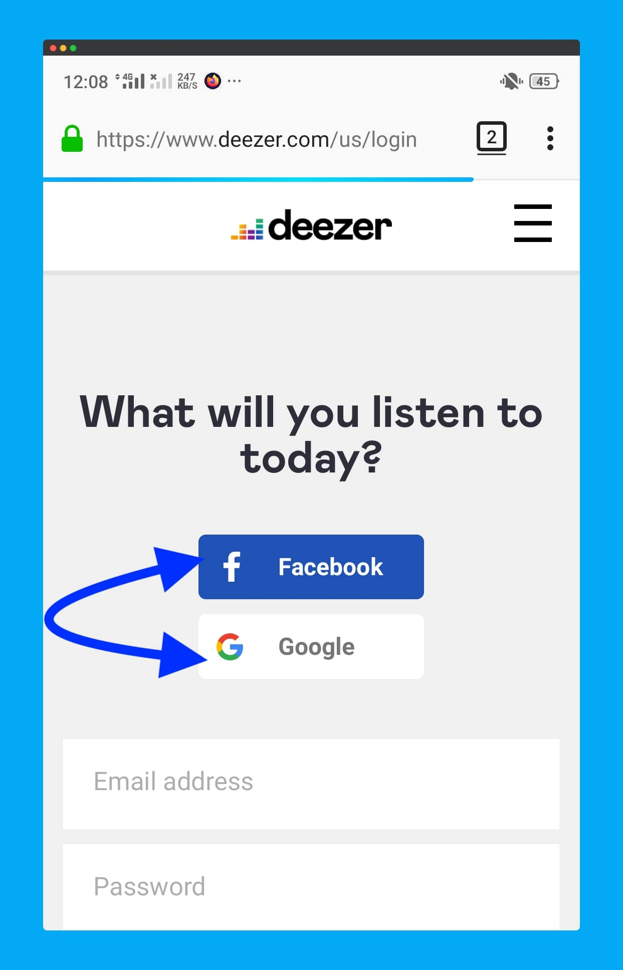 Open-Deezer.com-website