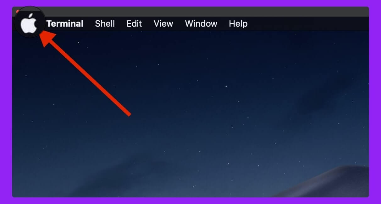 from-the-above-menu-click-Apple-icon