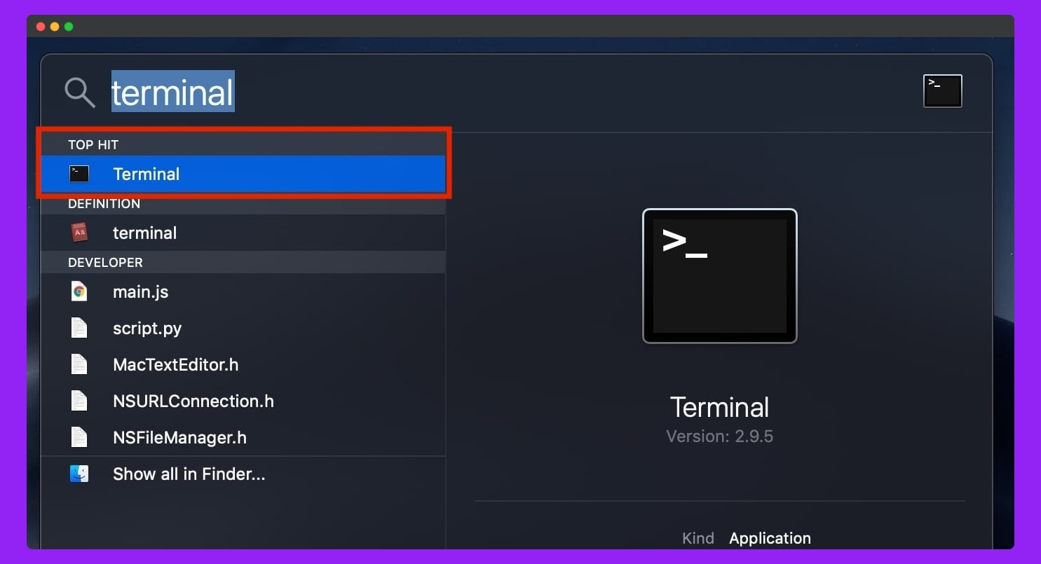 open-Spotlight-and-Search–terminal